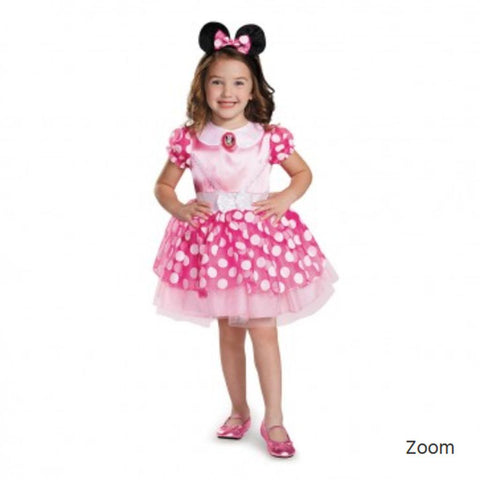 Pink Minnie Tutu Toddler Costume