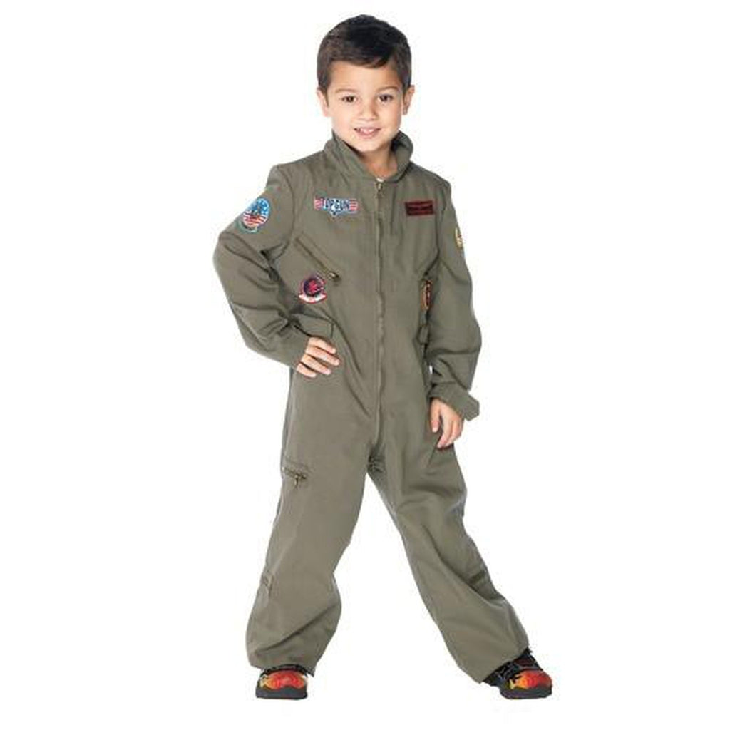Top Gun Flight Suit Boy's Costume