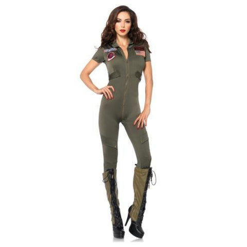 Top Gun Flightsuit Sexy Costume