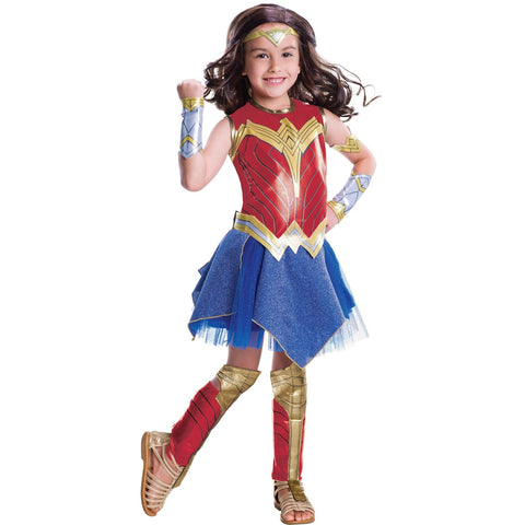 Deluxe Wonder Woman Girl's Costume
