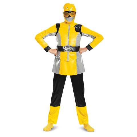 Yellow Power Ranger Beast Girl's Costume