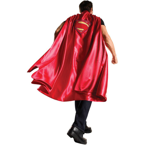 Deluxe Superman Cape Adult Men's Costume