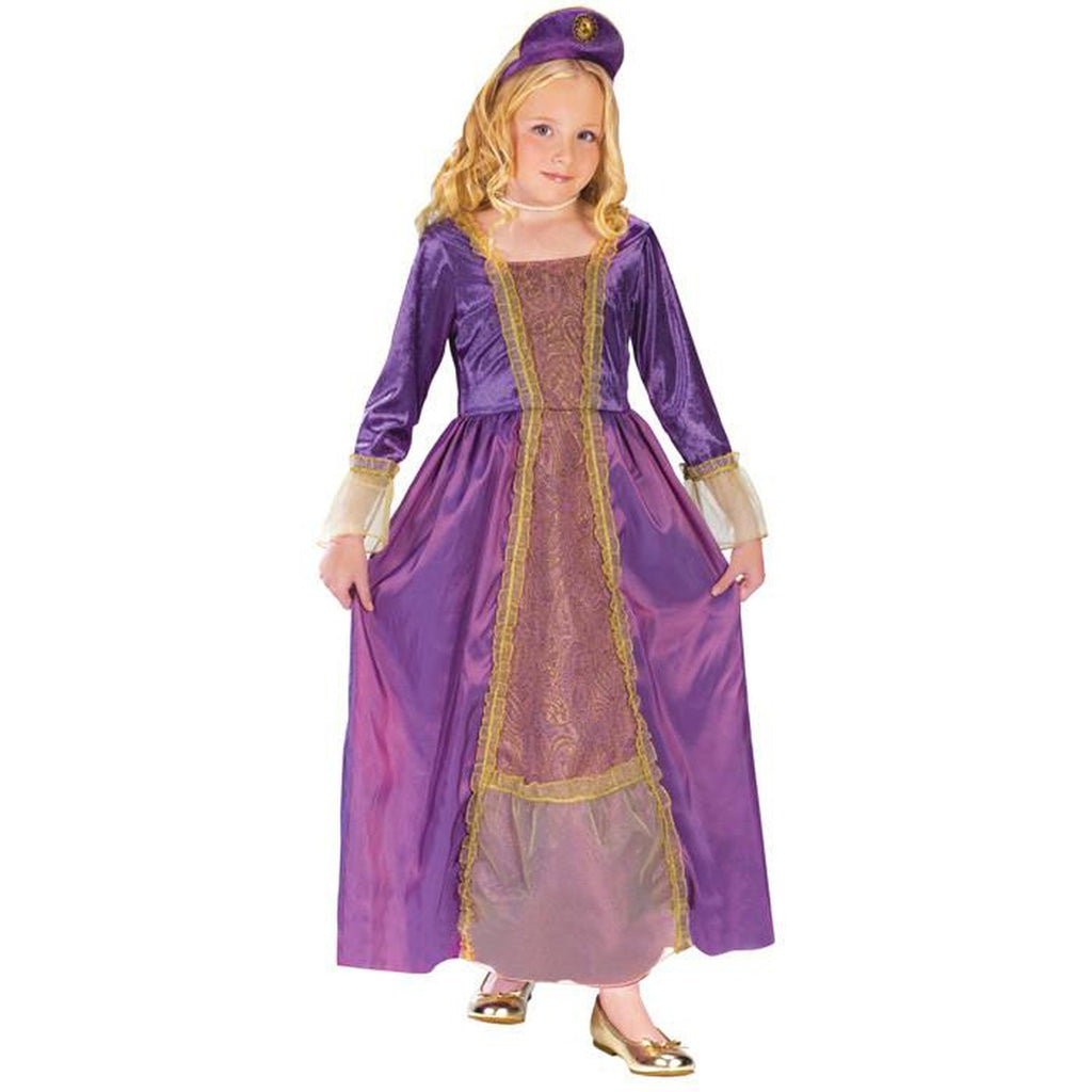 Amethyst Princess Girl's Costume