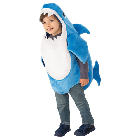 Blue Daddy Shark Toddler Costume