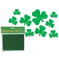 Assorted Foil Shamrocks