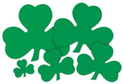 "9"" Shamrock Cut-Out"