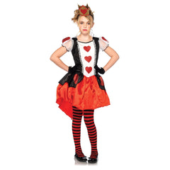 Wonderland Queen Girl's Costume