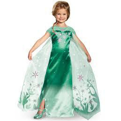 Frozen Fever - Elsa Girl's Costume