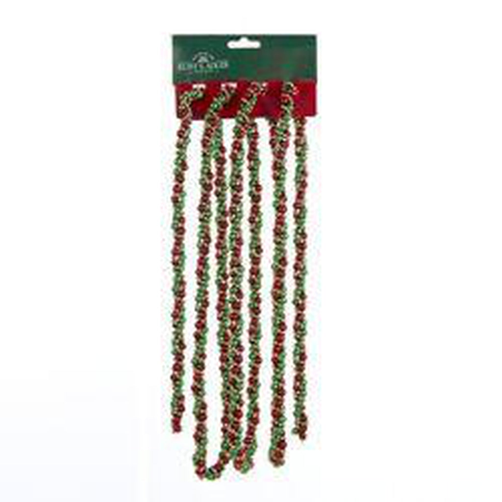 9' Twisted Bead Garland
