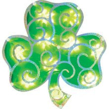 Shimmering Shamrock Window Frame