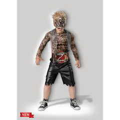 Rotting Wrestler Boy's Costume