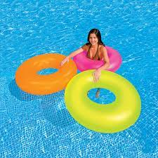 "Intex 36"" Neon Frost Pool Tube"