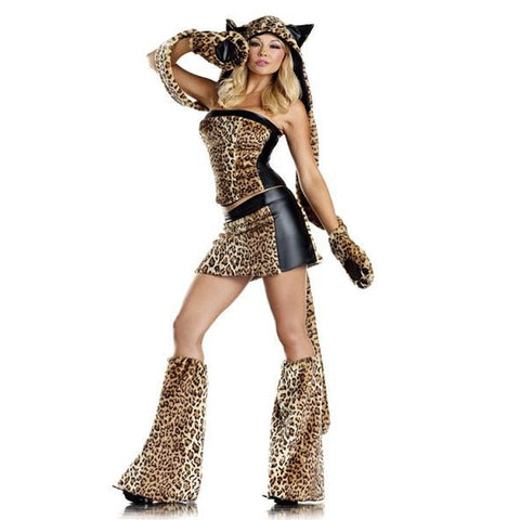 Lusty Leopard Sexy Costume