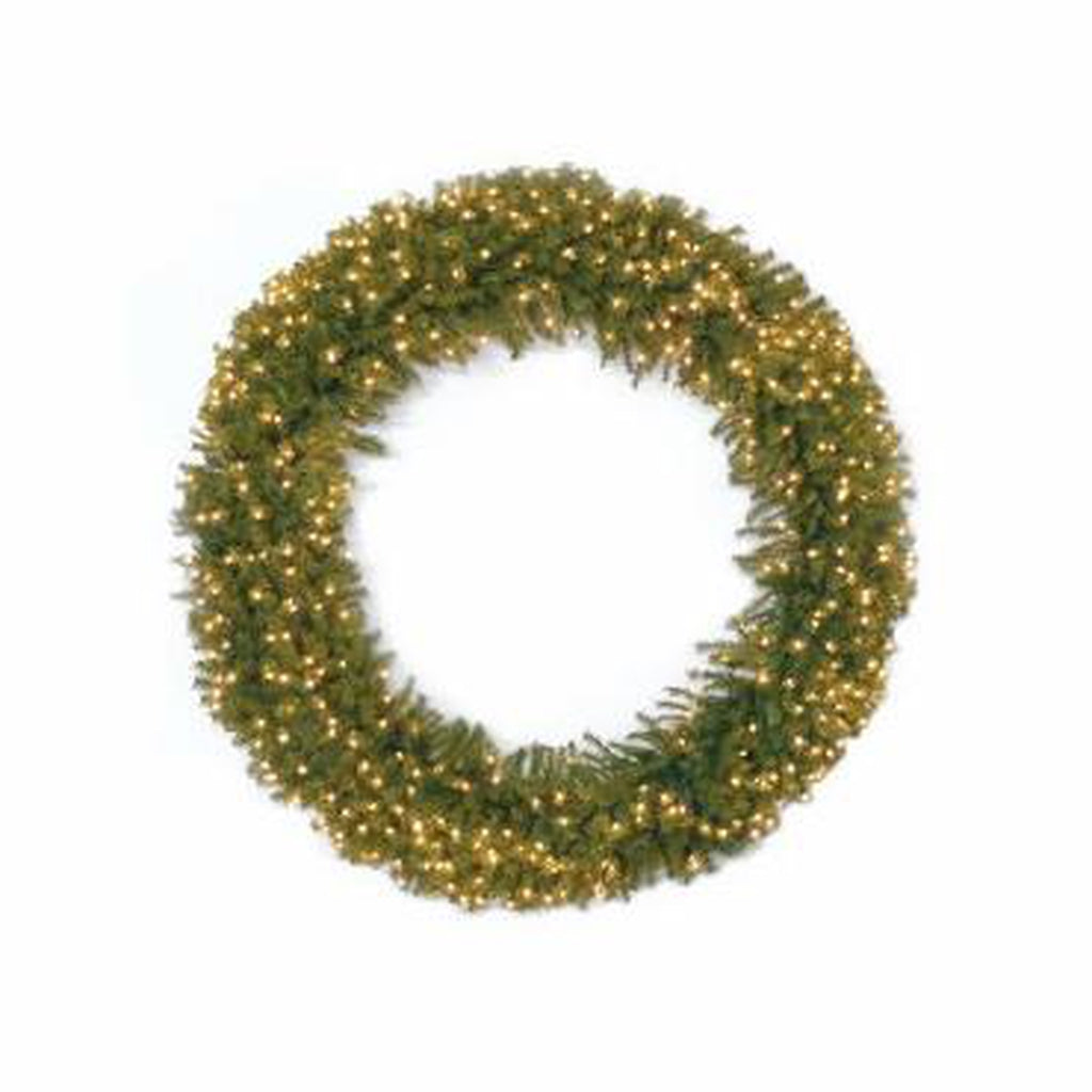 "60"" Norwood Fir Wreath w/ Lights"