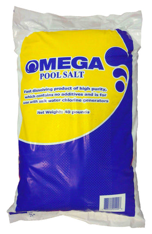OMEGA Pool Salt 40LB (Pickup only)