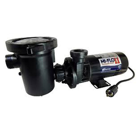 Waterway Plastics Hi-Flo Above Ground Pool Pumps w/ Twist Lock Plug