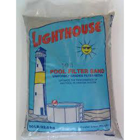 50LB Lighthouse Filter Sand