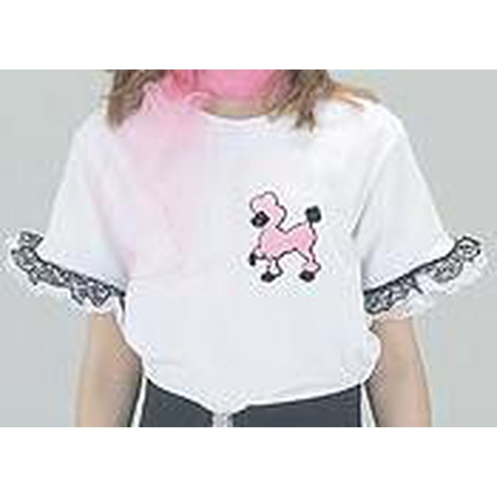 Poodle T-Shirt Girl's Costume