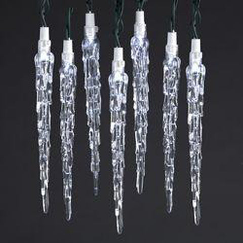 LED Icicle Light Set