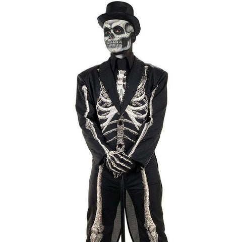 Bone Chillin Plus Men's Costume