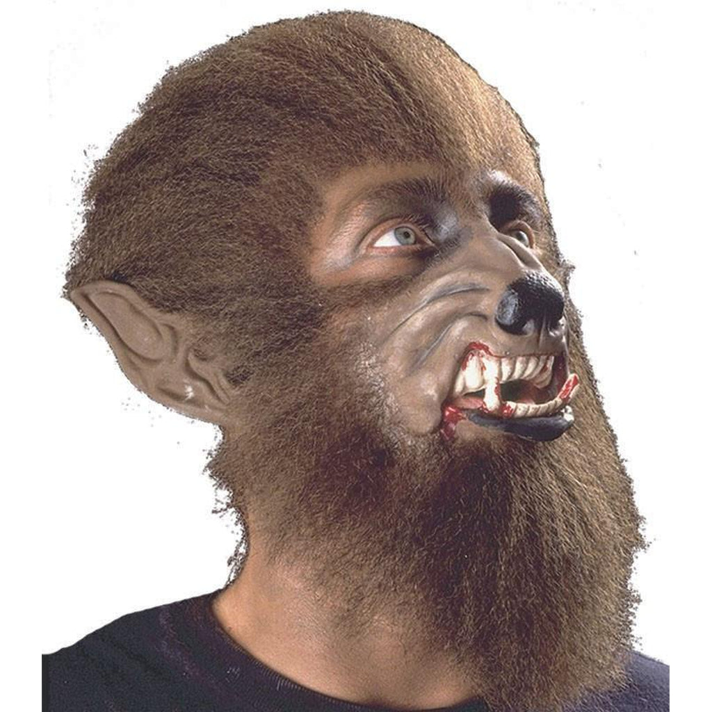 Werewolf Face Latex Appliance