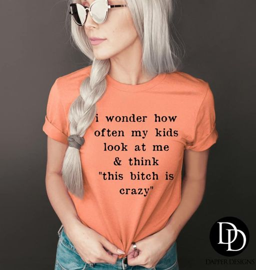 I wonder how often my kids look at me & think