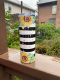 Sunflower Stainless Steel Tumbler 20 oz