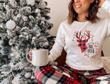 Oh Deer Christmas tee (Long sleeve or short sleeve)
