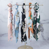 Boho Floral Hair Scarves: Available in 5 Colors