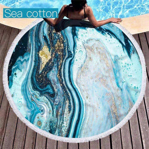 Geode Microfiber Round Towels IN STOCK!