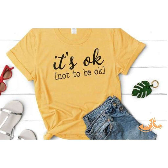 It's Ok [not to be ok]