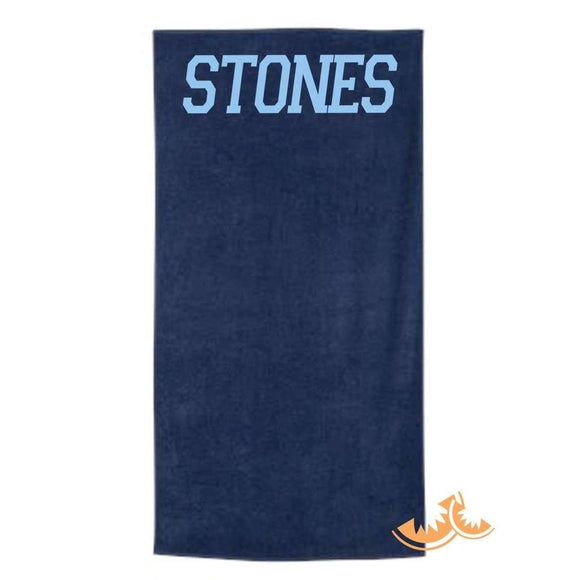 Stones Crossing Towel