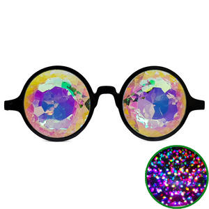 Black Ultimate Kaleidoscope Glasses