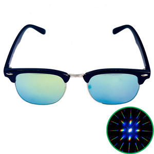 Clubmaster Diffraction Glasses