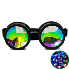 Load image into Gallery viewer, Black Kaleidoscope Goggles