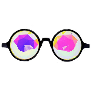Black Prism Kaleidoscope Glasses