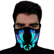 Load image into Gallery viewer, Blue Bane LED Sound Activated Mask