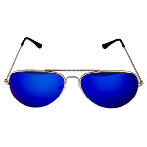 Blue Aviator Diffraction Glasses