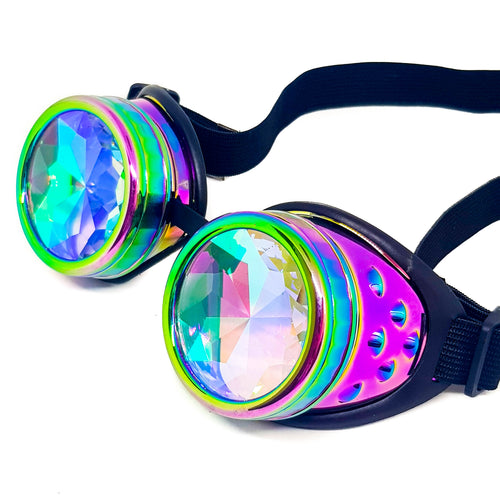 Psychedelic Kaleidoscope Goggles V2