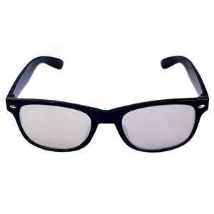 Silver Wayfarer Diffraction Glasses