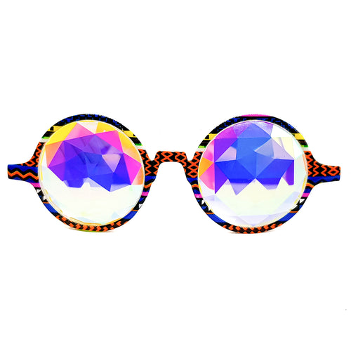 Tribal Prism Kaleidoscope Glasses