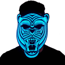 Load image into Gallery viewer, Bear LED Sound Activated Flat Mask