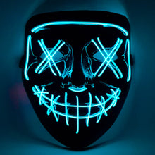 Load image into Gallery viewer, Blue LED Purge Mask