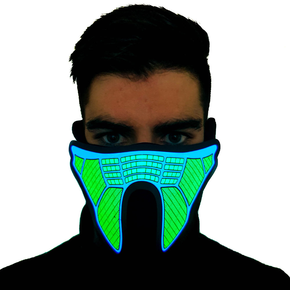 Decepticon LED Sound Activated Mask