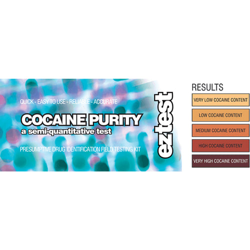 EZ Test Cocaine Purity Test Kit