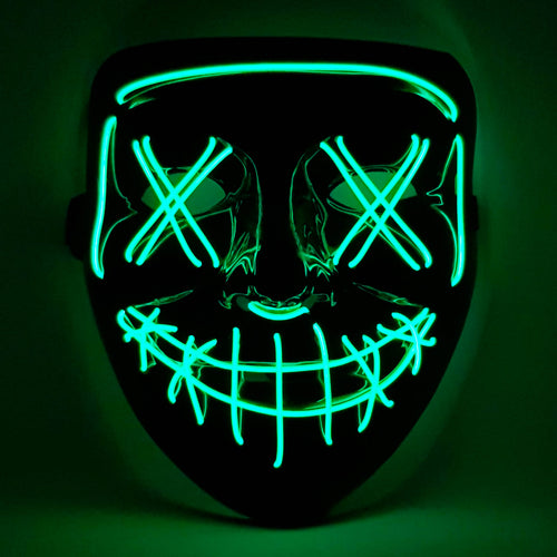 Green LED Purge Mask