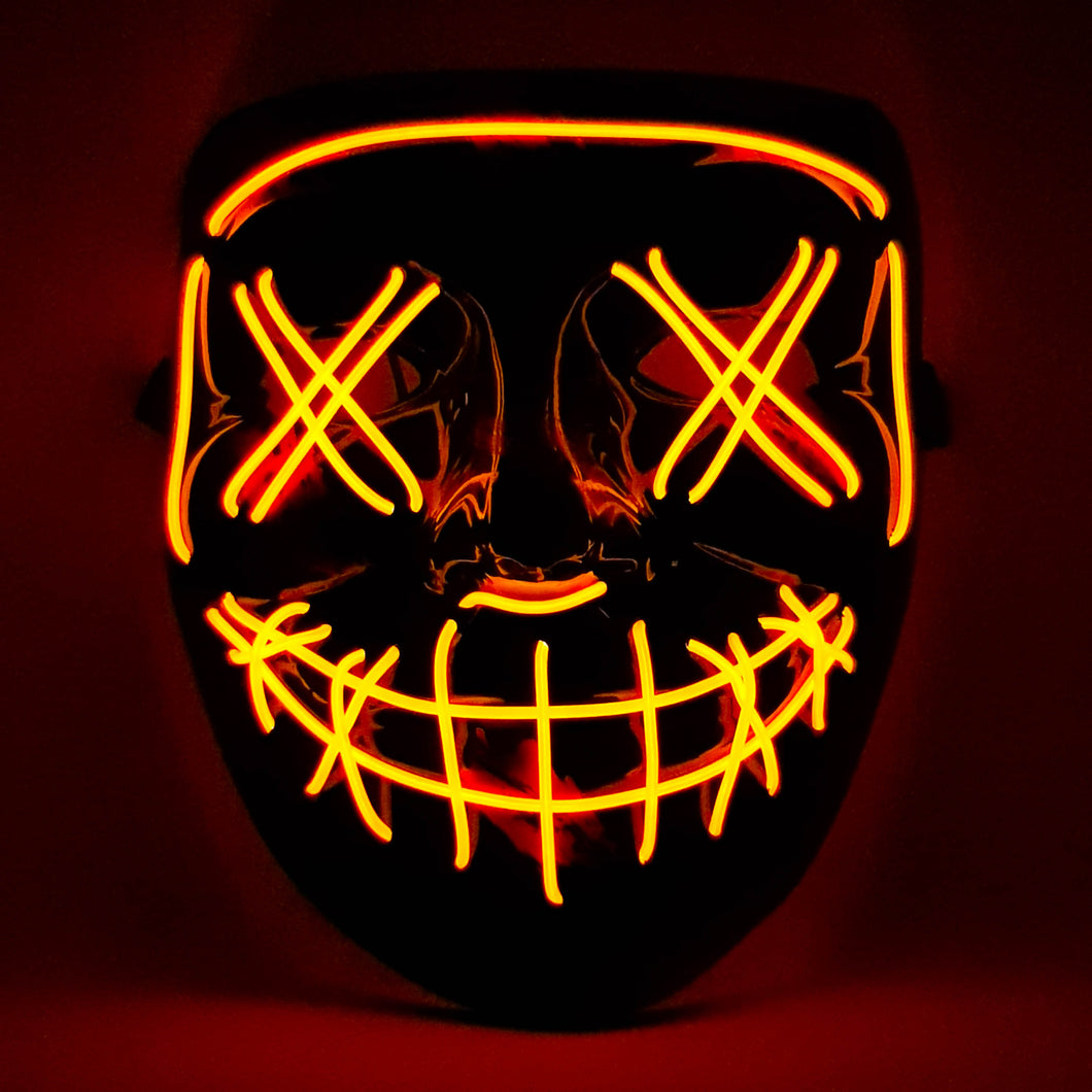 Orange LED Purge Mask
