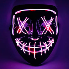 Load image into Gallery viewer, Purple LED Purge Mask