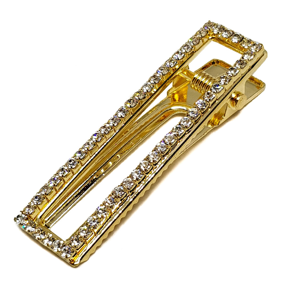 Square Diamond Hair Clip
