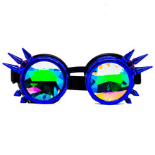 Load image into Gallery viewer, Galaxy Steampunk Kaleidoscope Goggles V2